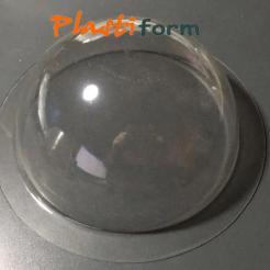 Semi Esfera Semiesferas 25 Cm Pet Transparente (no Acrilico)